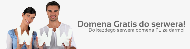 Domena gratis do serwera
